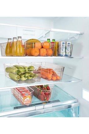 Tuka Home Buzdolabı Düzenleyici Organizer Orta Boy 3 Adet