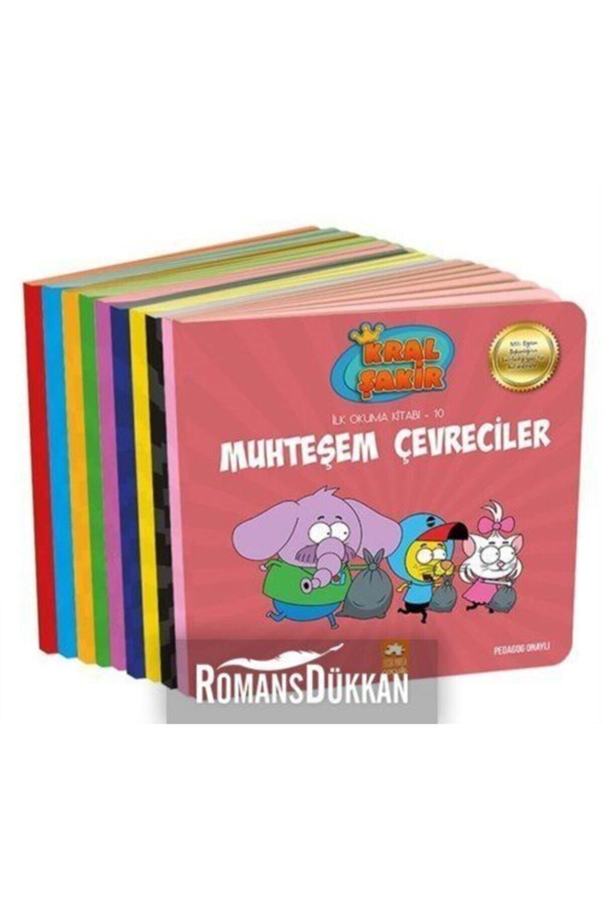 Eksik  Parça Çocuk Kral Şakir İlk Okuma Kitapları Seti 10 Kitap Takım 1