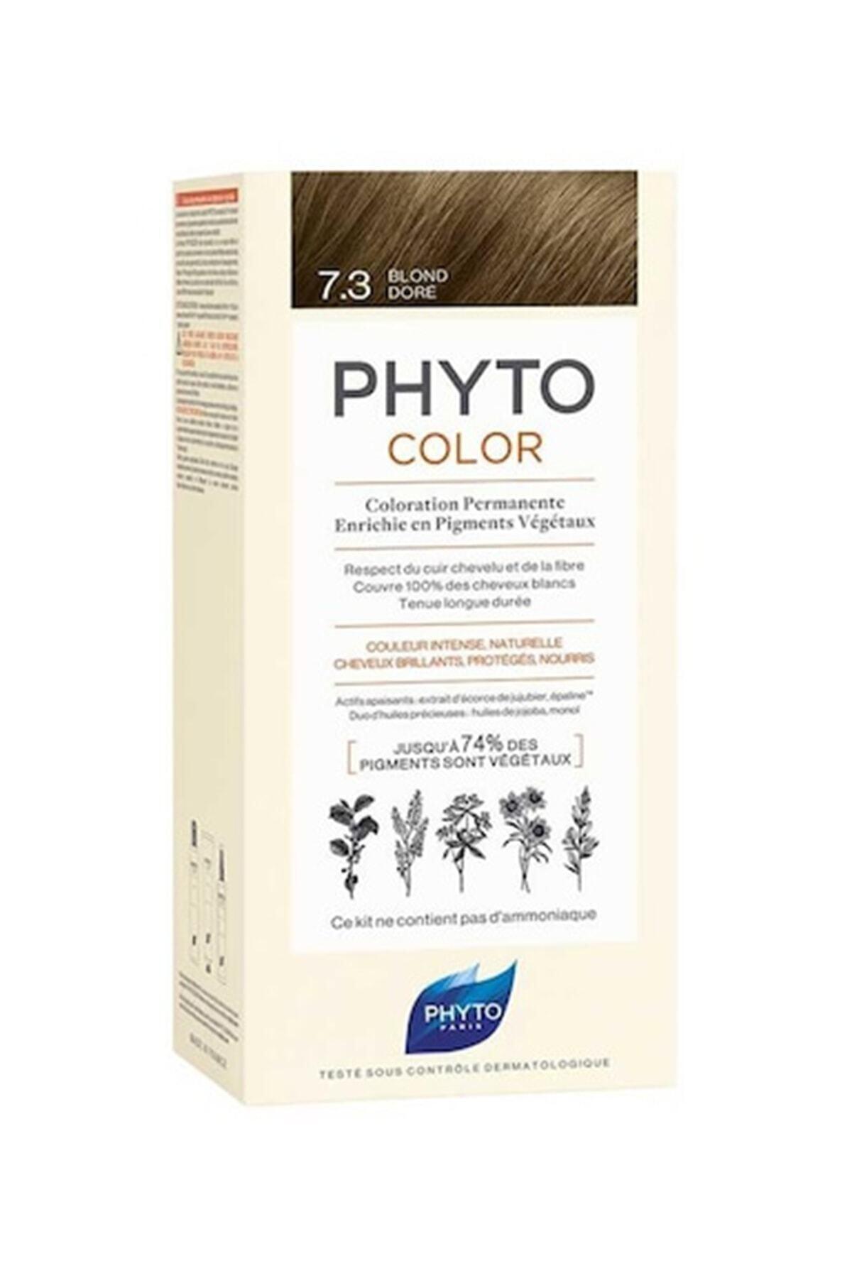 Phyto Color 7.3 - Kumral Dore (Bitkisel Saç Boyası) - 1