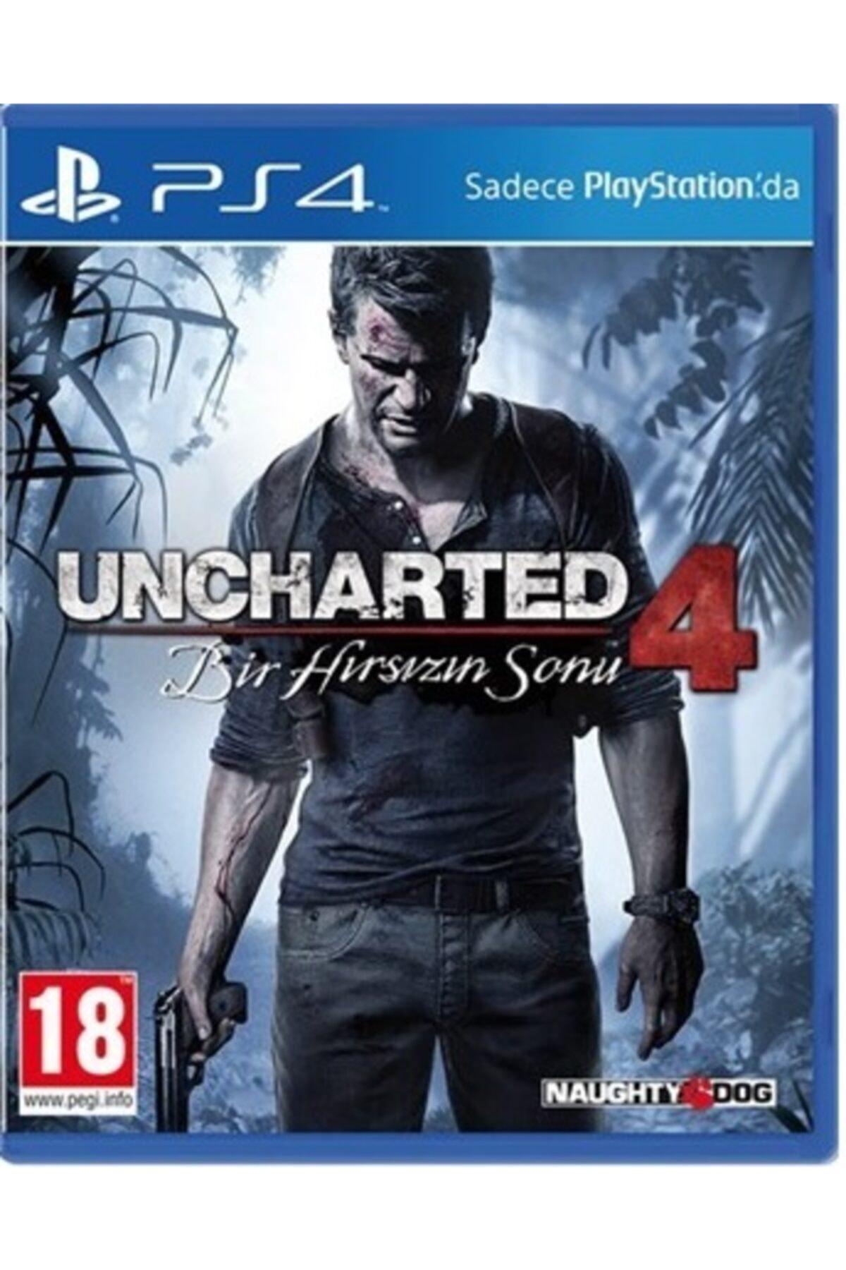 Naughty Dog Uncharted 4: Bir Hırsızın Sonu  - Türkçe Dublaj Ps4 Oyun 1