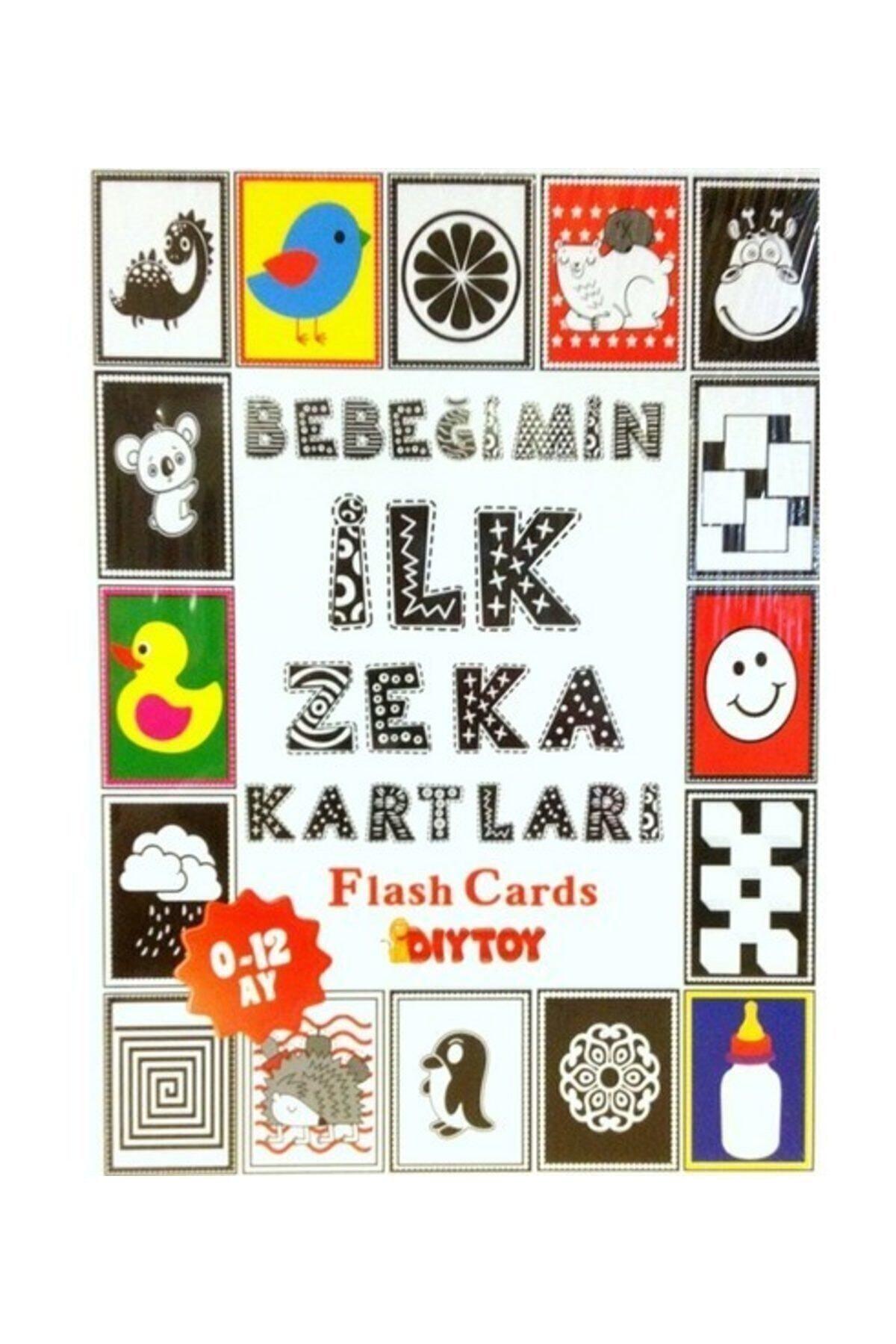 Elif İş Eğitimi Diytoy Bebeğimin İlk Zeka Kartları (Flash Kart) KLTBDR012 1