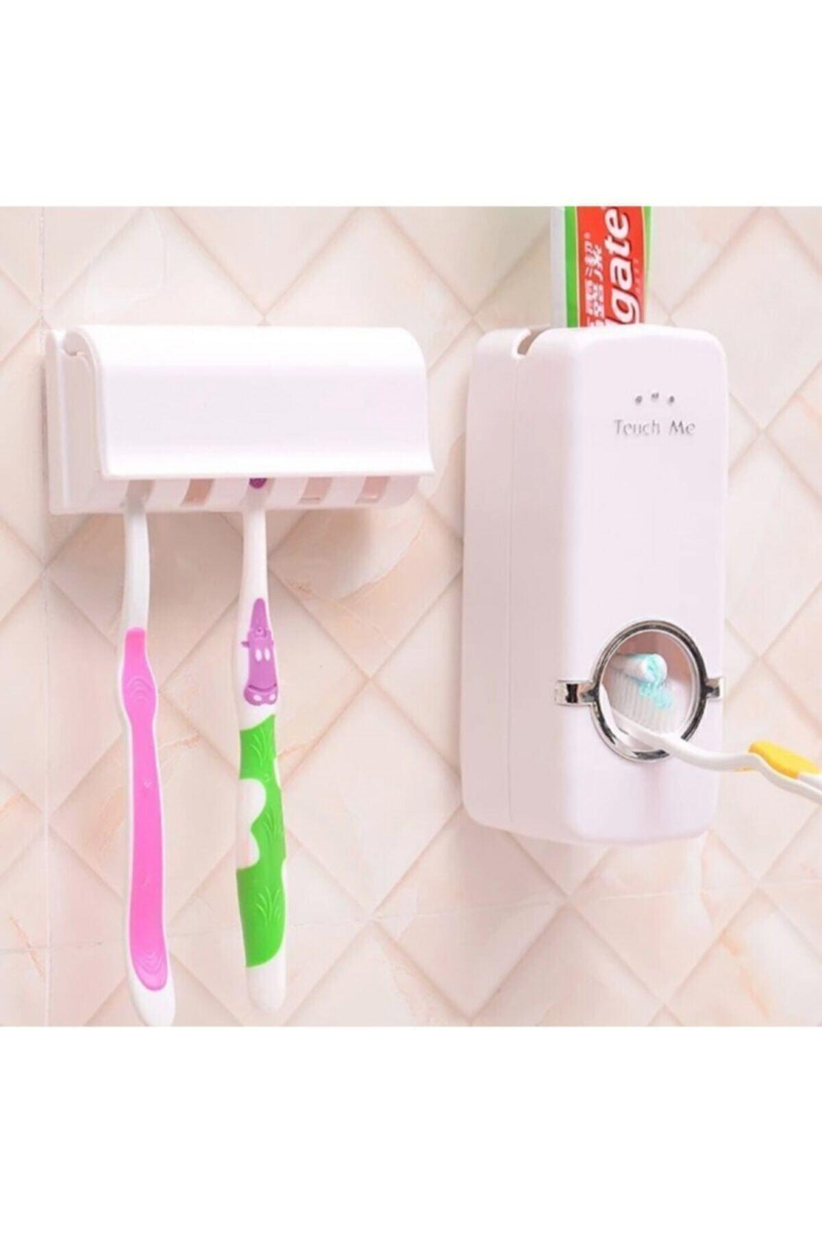 CMT Otomatik Macun Sıkacağı ve Diş Fırçalık Seti 1