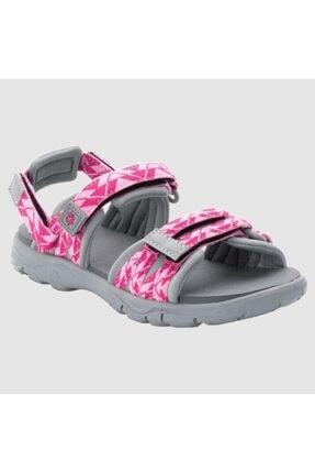 Jack Wolfskin 4046421 2 In 1 Sandal K Pink/light Grey Kadın Sandalet