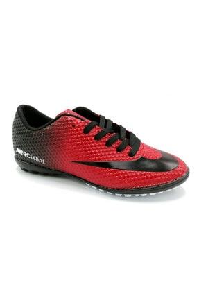 Ludo Vico Erkek Kırmızı Halısaha Futbol Ayakkabısı
