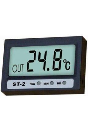 yakpen Mini Dijital Termometre Ve Nem Ölçer Saatli Buzdolabı Termometresi Araç Içi Kullanım