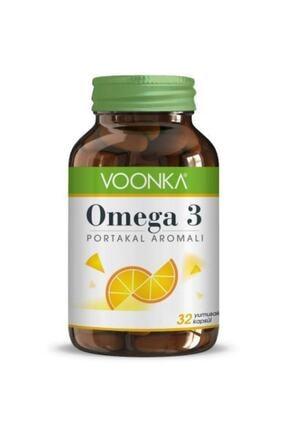 Voonka Omega 3 Portakal Aromalı 32 Kapsül