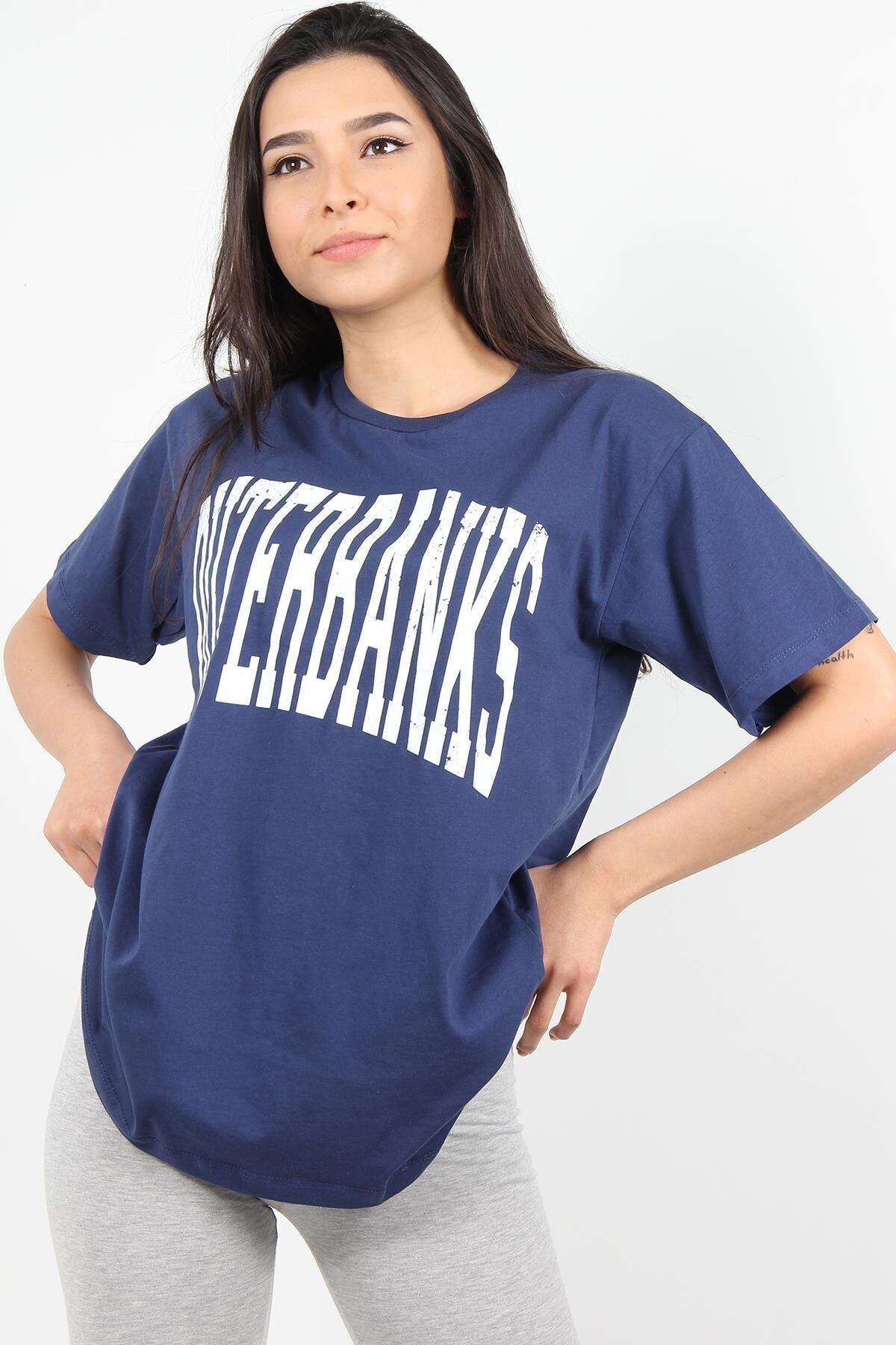 Mckanzie 7516 Outerbanks Yazılı O Yaka Tshirt 1