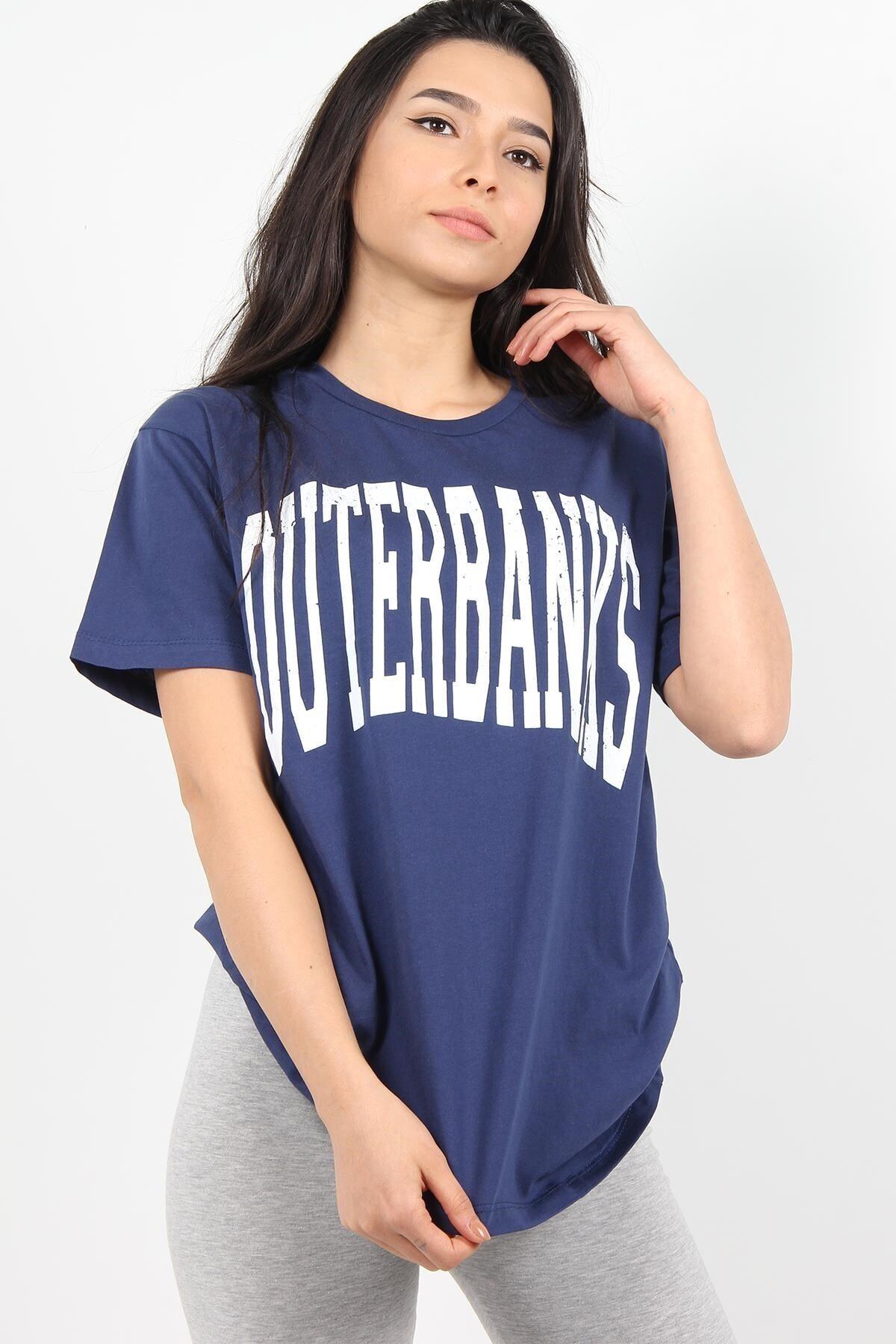 Mckanzie 7516 Outerbanks Yazılı O Yaka Tshirt 2