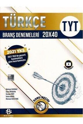 Bilgi Sarmalı Bilgi Sarmal Yayınları Tyt Türkçe 20 X 40 Branş Denemeleri