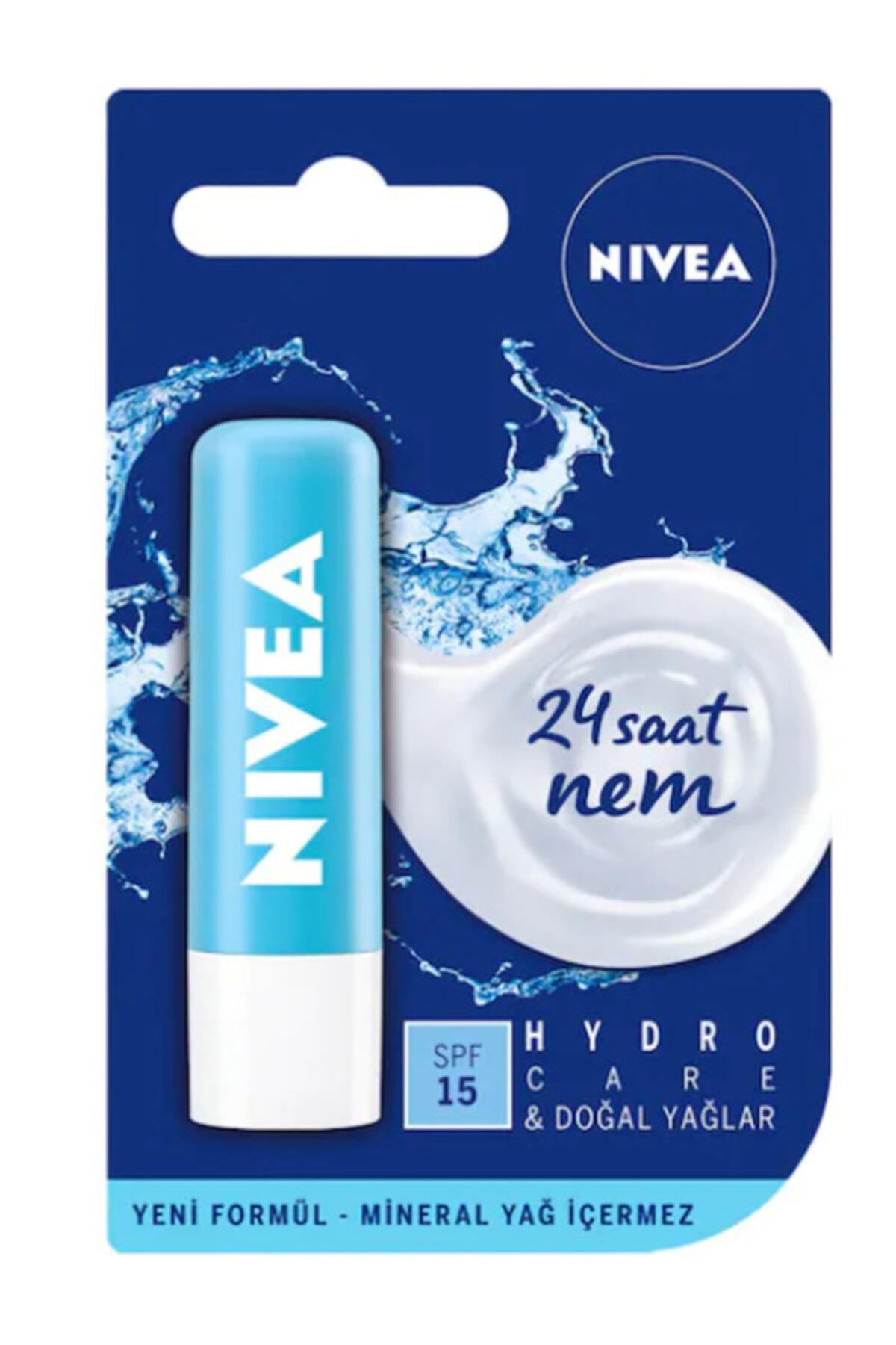Nivea Lip Hydro Care Dudak Bakım Kremi 4,8 Gr 1