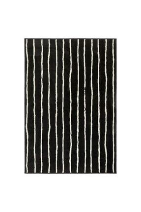 IKEA Orta Boy Halı Siyah-beyaz Meridyendukkan 133x195 Cm Kir Tutmaz Halı