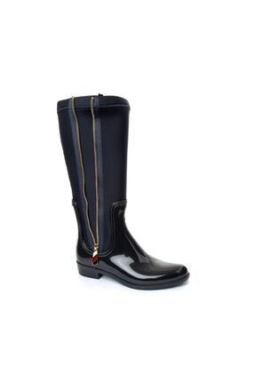 Tommy Hilfiger Kadın Lacivert Çizme Bot Fw0fw03564