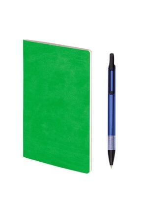 PULKO BUNDLE , Terzi Dikiş Defter + Kalemli Set (yeşil + Mavi)