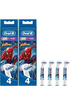 Oral-B Diş Fırçası Yedek Başlığı Marvel Spiderman 8 Adet