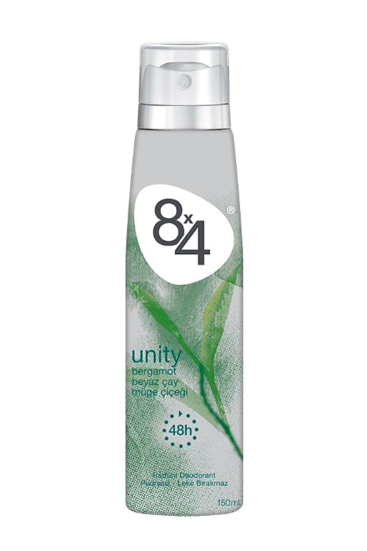 8x4 Pudrasız Unisex Deodorant 150 ml 1