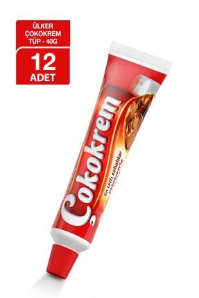 Ülker Çokokrem Tüp 40gr X12 Adet