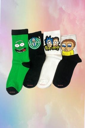 Neşeli Çoraplar Eğlenceli Çizgi Film Çorap Seti