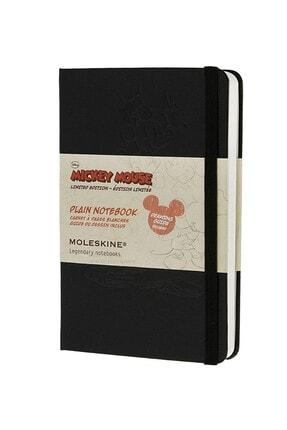 Moleskine Disney Plain Cep Boy Sert Kapak Düz Defter 7894