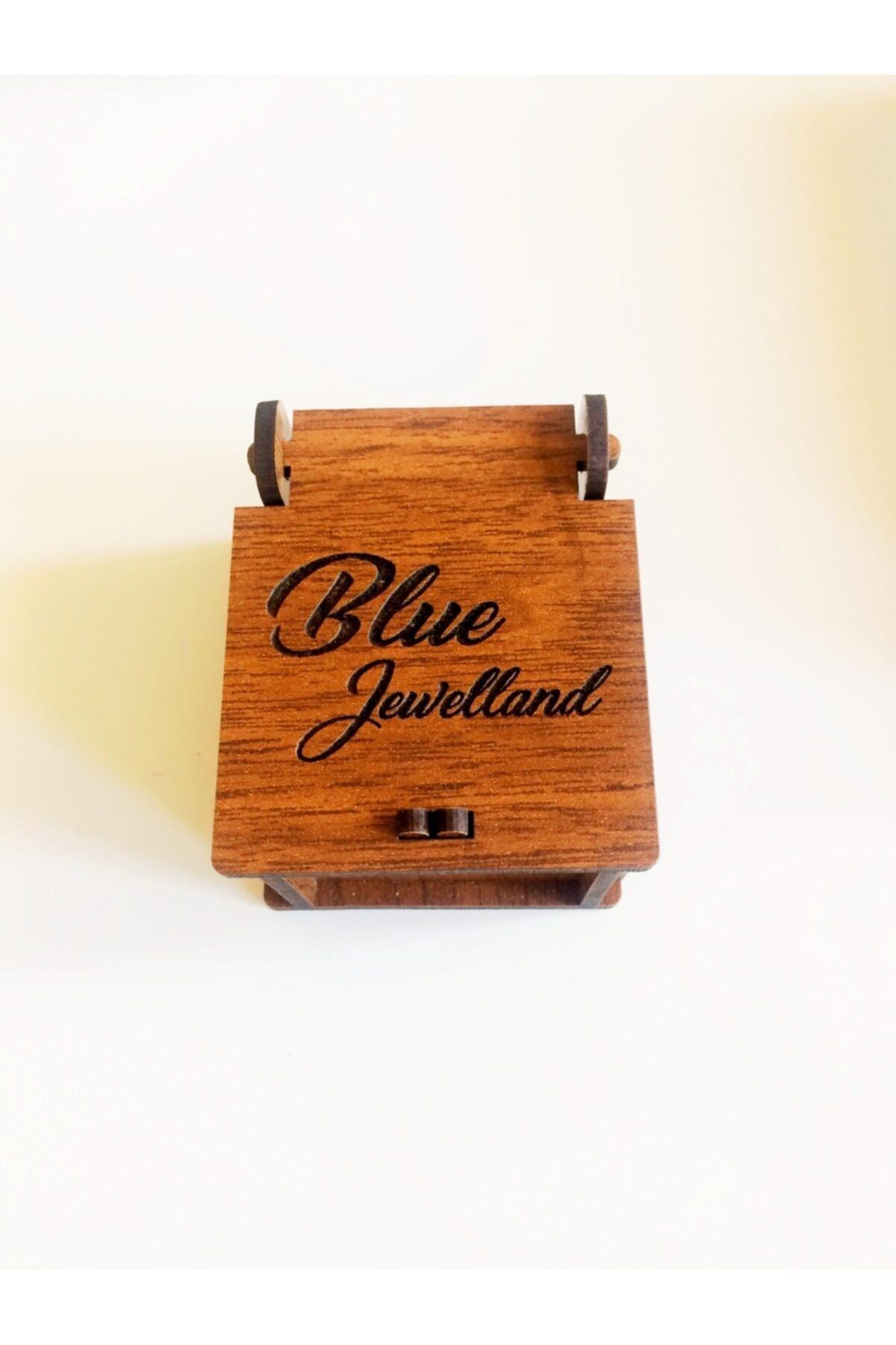 blue jewelland Kolye Murano Kalpli 925 Ayar Gümüş Zincir 2