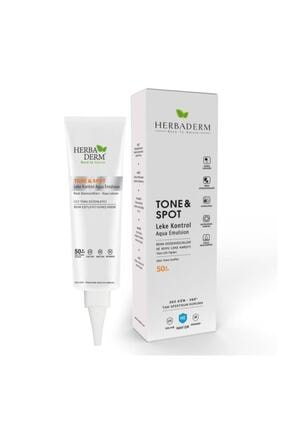 Herbaderm Tone & Spot Tam Spektrum Koruma Koyu Leke Karşıtı Ve Renk Düzenleyici Renksiz