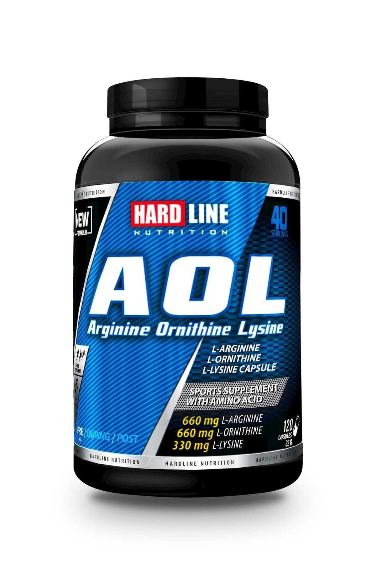 Hardline Nutrition Aol 120 Kapsül 1