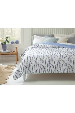English Home Lavender Çift Kişilik Çok Amaçlı Yatak Örtüsü 200x220 Cm Lila