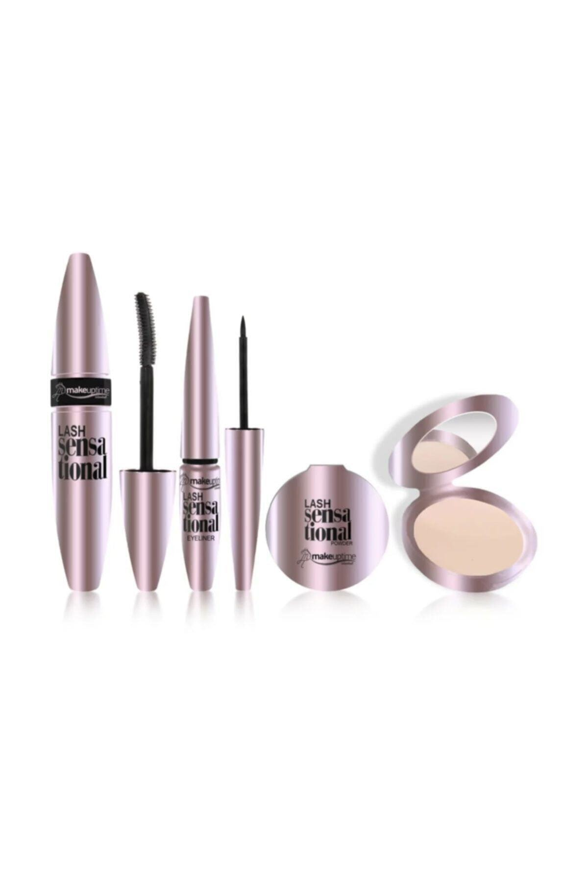 Makeuptime Rimel Eyeliner Pudra Seti 1