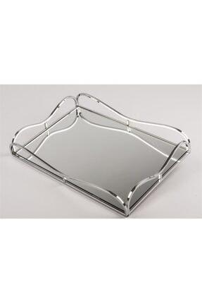 Mikasa Moor Gümüş Aynalı Dikdörgen Tepsi