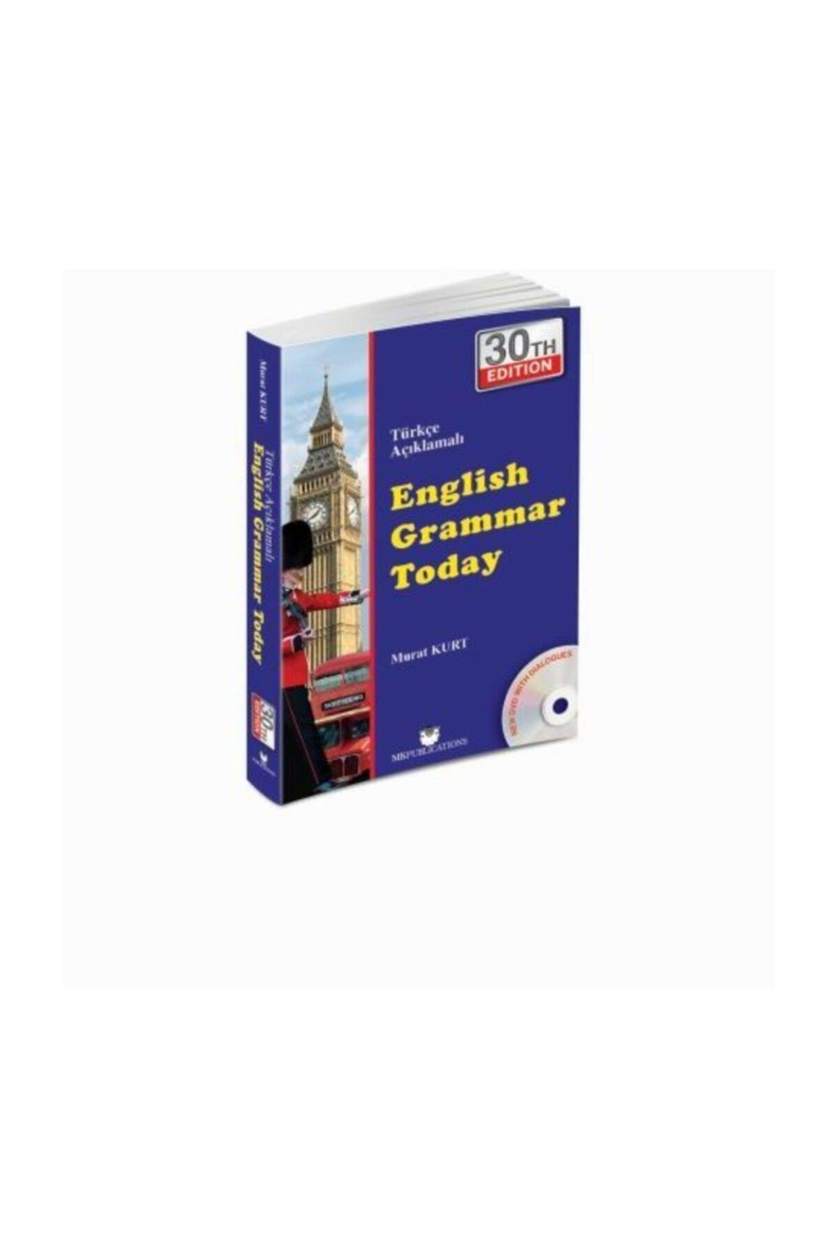 MK Publications English Grammar Today Türkçe Açıklamalı Ingilizce Gramer 1