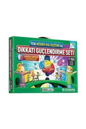 Adeda Yayınları Adeda 5. Sınıf Dikkati Güçlendirme Seti 11 Yaş Osman Abalı