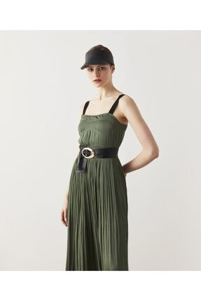 İpekyol Kontrast Askılı Elbise