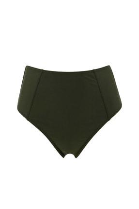 DeFacto Kadın Haki Basic Yüksek Bel Bikini Altı T4307AZ21SM