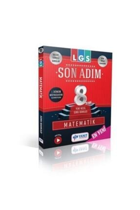 Yanıt Yayınları 8. Sınıf Son Adım Matematik Soru Bankası Son Adım