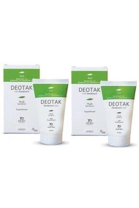 Deotak Plus Krem Deodorant 2li Set Çay Ağacı Yağı+panthenol
