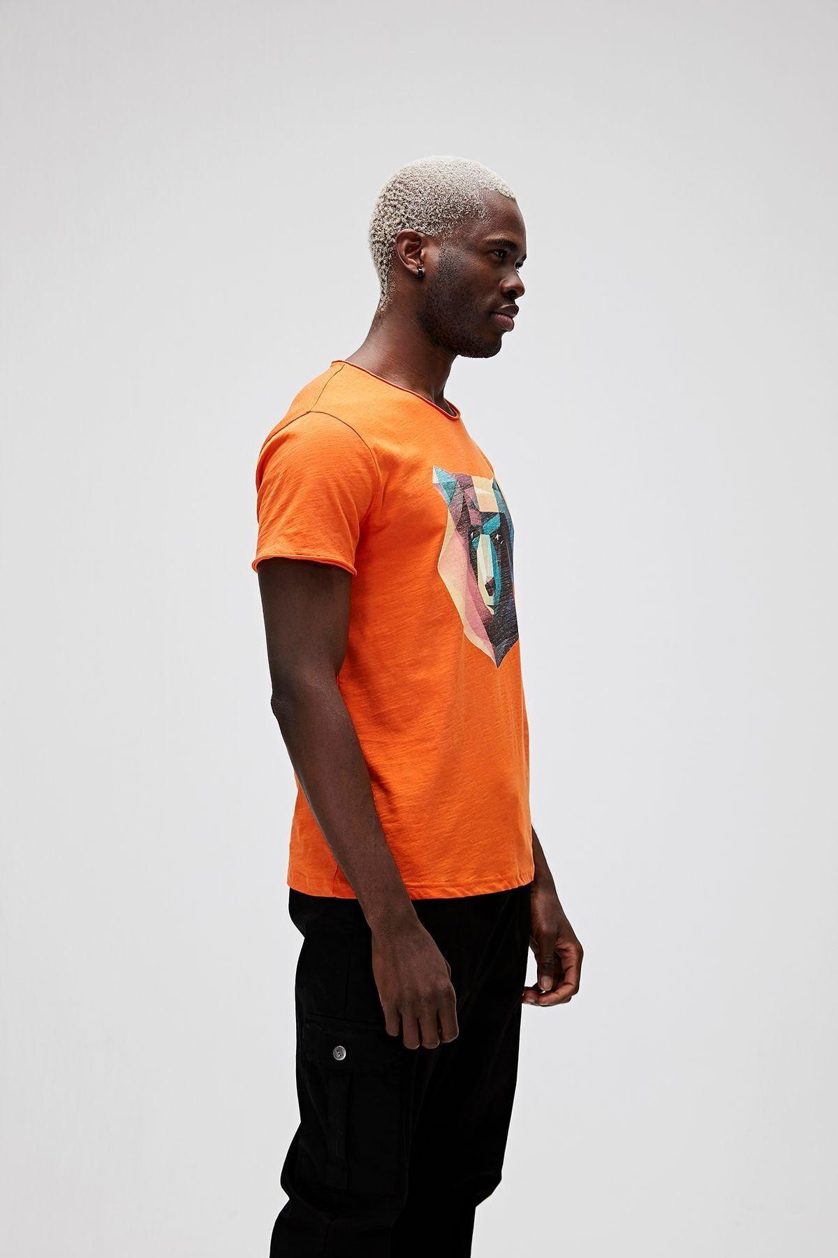 Bad Bear Erkek Baskılı Tişört 21.01.07.042 2