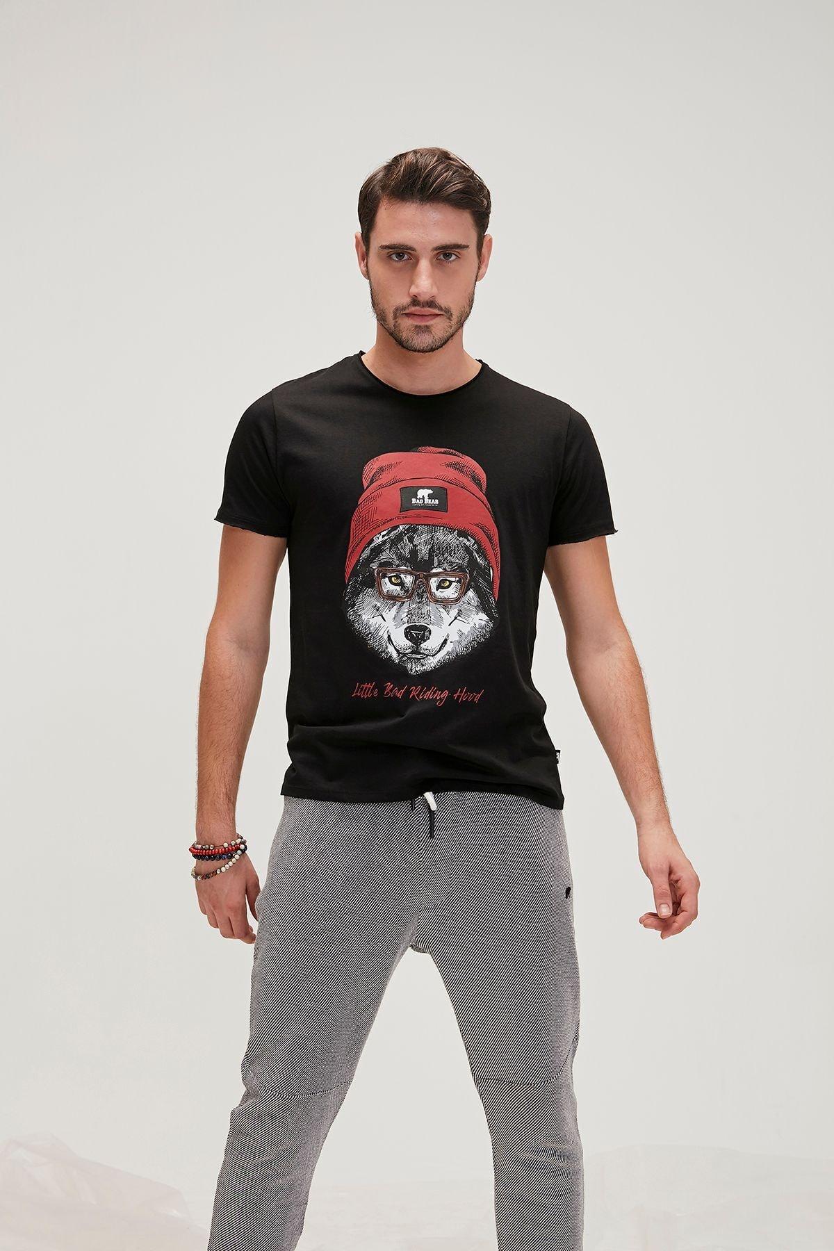 Bad Bear Erkek Baskılı T Shirt 20.01.07.015 1