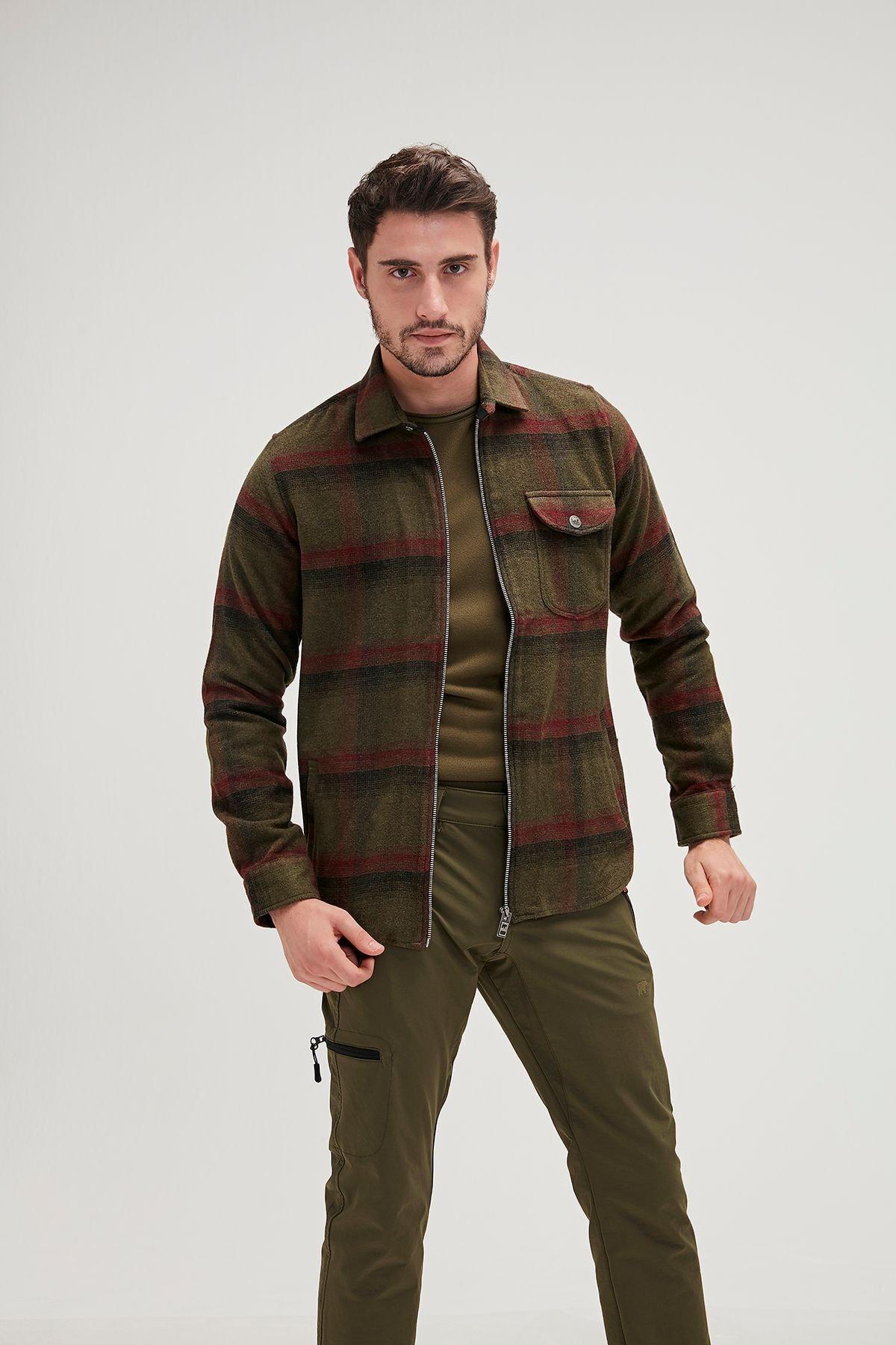 Bad Bear Erkek Haki Woodant Ceket 1