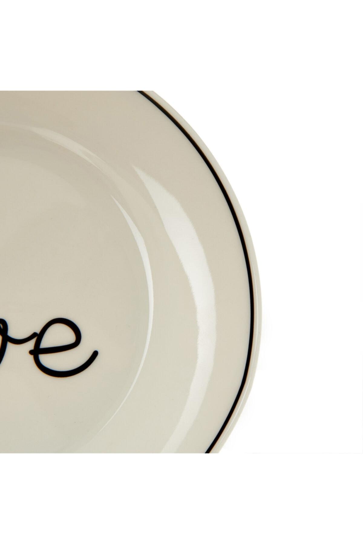 Porland Lfh Hope Love Tatlı Tabağı - 17 Cm 2
