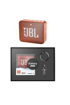 JBL Go 2 Ipx7 Bluetooth Taşınabilir Hoparlör Turuncu Set