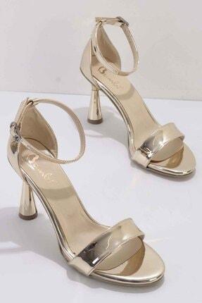 Bambi Kadın Altın Abiye Ayakkabı