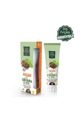 Eyüp Sabri Tuncer Florur Paraben Gluten Içermeyen Çikolata Ve Nane Özlü Doğal Diş Macunu 75 Ml+diş Fırçası