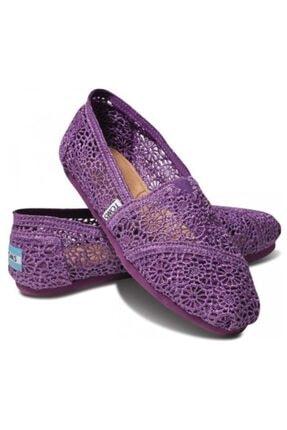 Toms Kadın Mor Ayakkabı