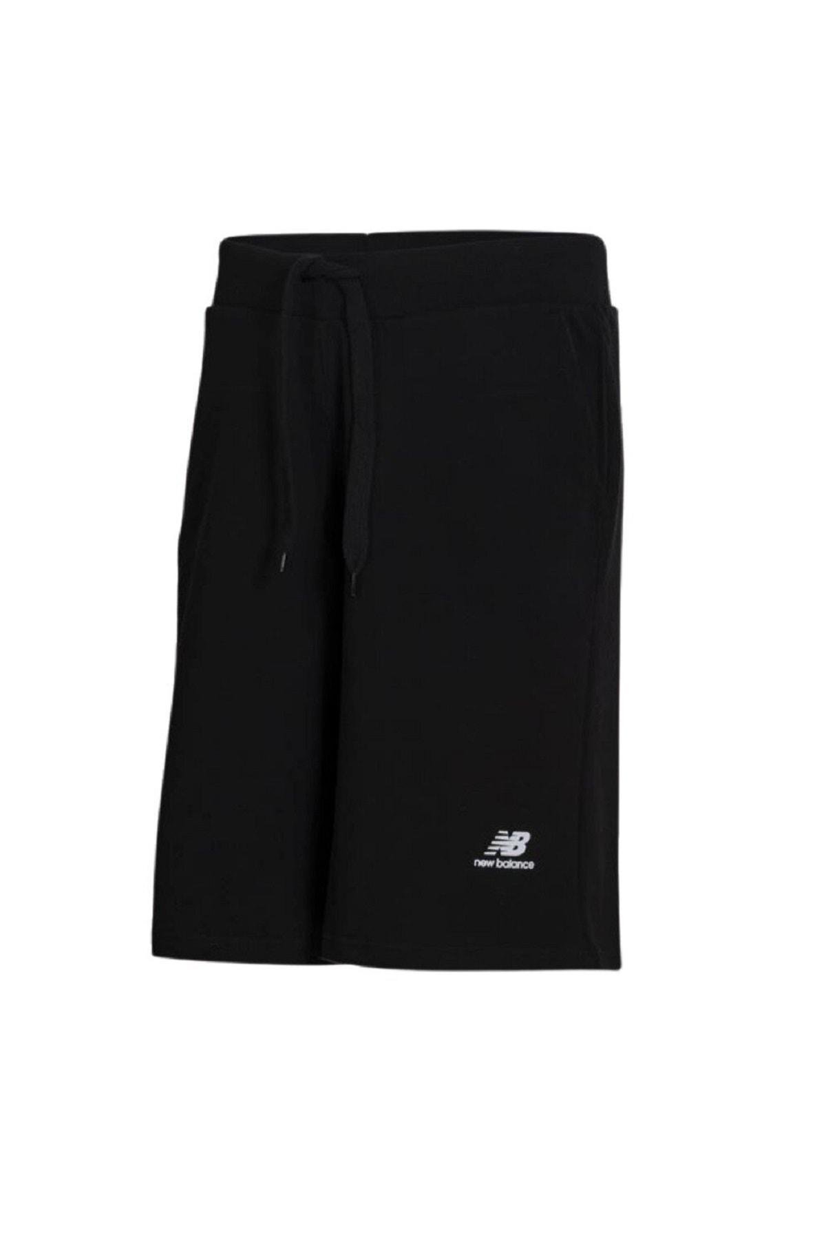 New Balance Erkek Siyah Şort Vom Shorts  V MTS005 BK 1