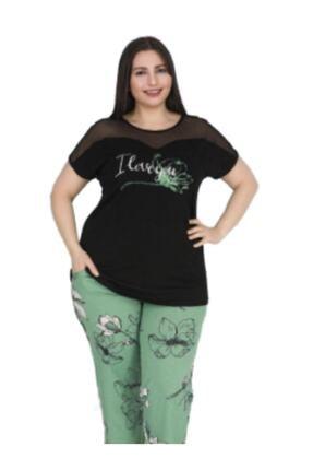 Massimo Love Kadın Büyük Beden Pijama Takımı