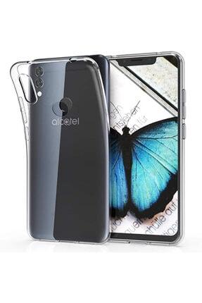 Alcatel 5v Kılıf Şeffaf Tam Koruma Esnek Süper Silikon Model