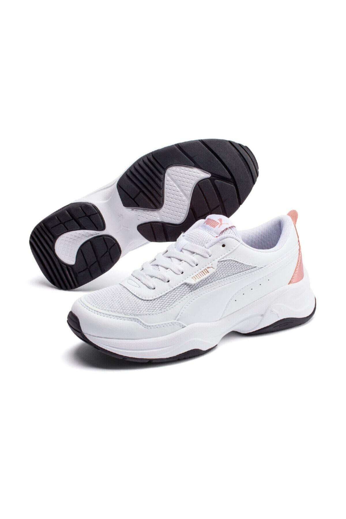 Puma CILIA MODE METALLIC Beyaz Kadın Sneaker Ayakkabı 101085361 1