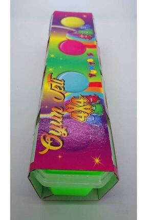 YumToys Oyun Jeli Canlı Parklak Renk Hazır Slime 4lü Paket 4 Renk 4x4 Slime 450gr