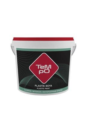 Tempo Plastik Iç Cephe Duvar Boyası 3,5 Kg Renk:nil Yeşili