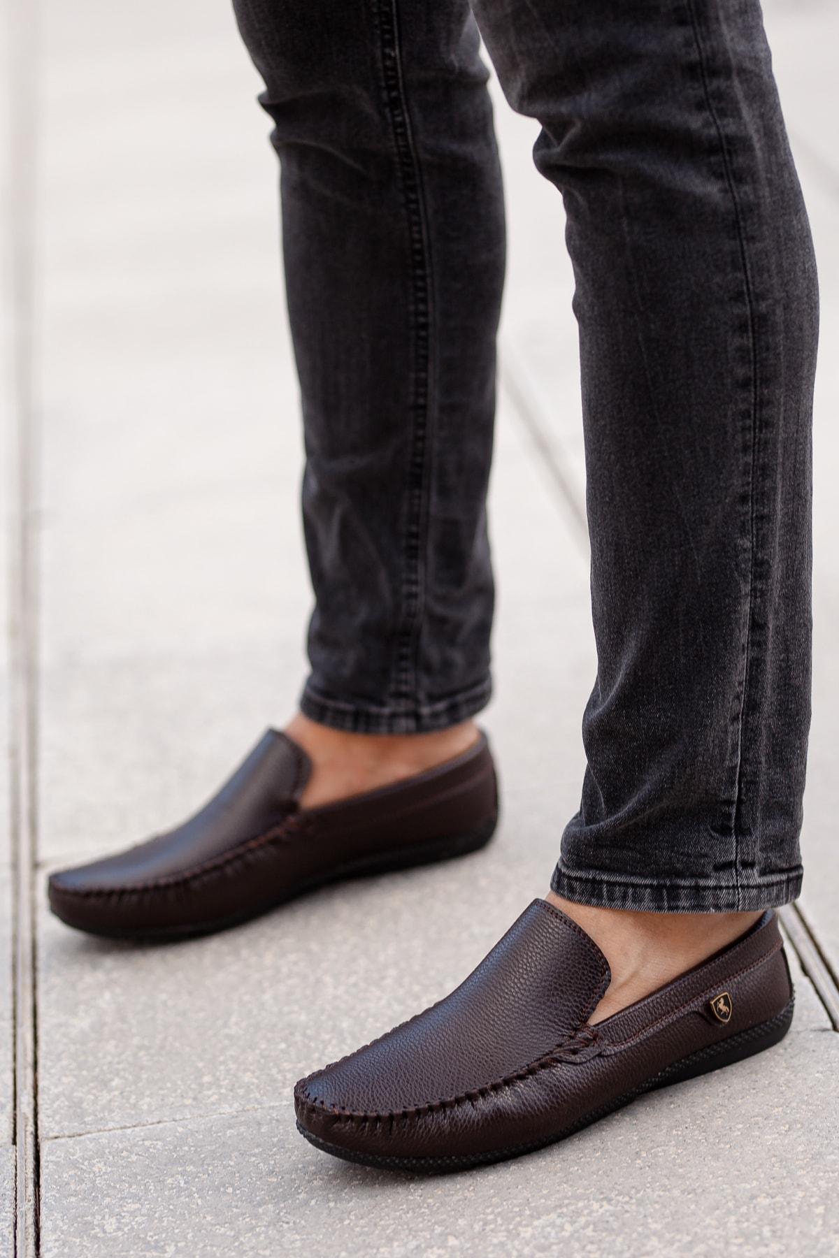 MUGGO Kahverengi Günlük Ayakkabı DPRMGM3473001 Hediye 1