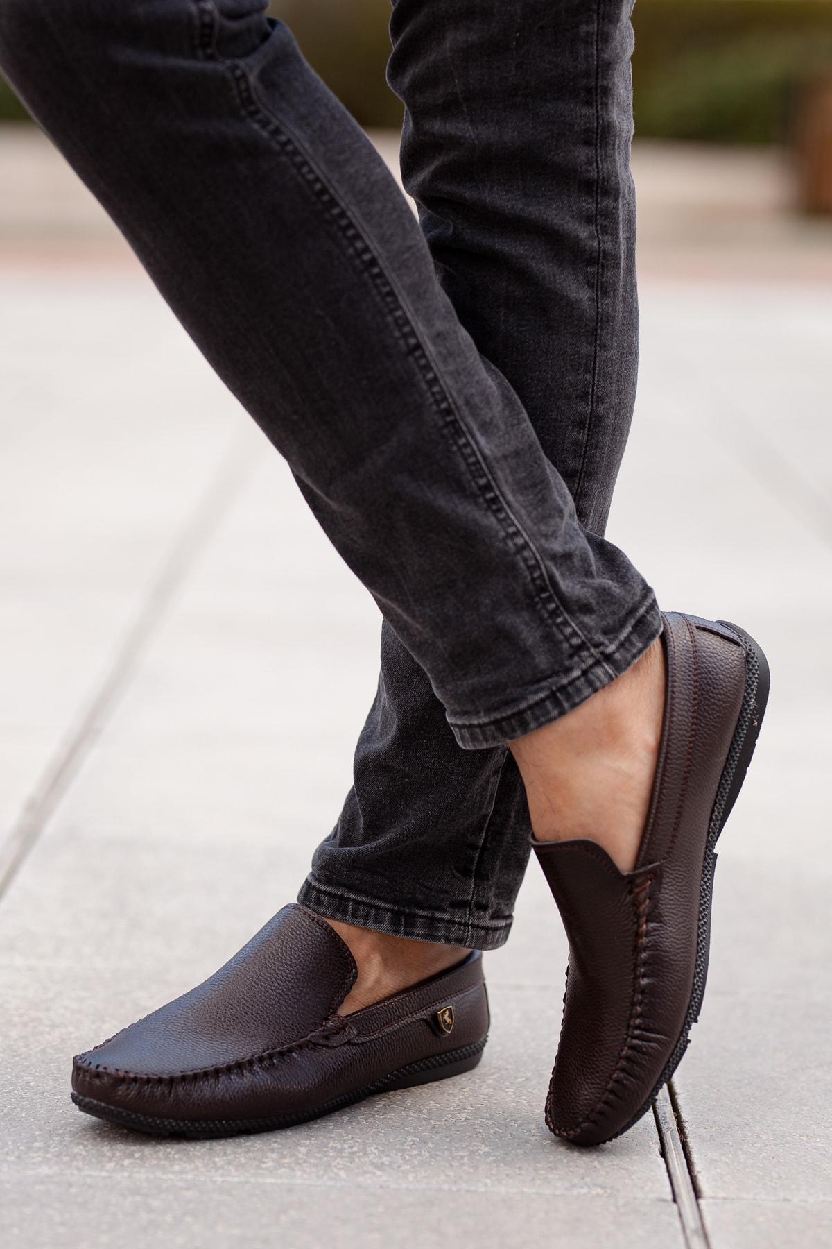 MUGGO Kahverengi Günlük Ayakkabı DPRMGM3473001 Hediye 2